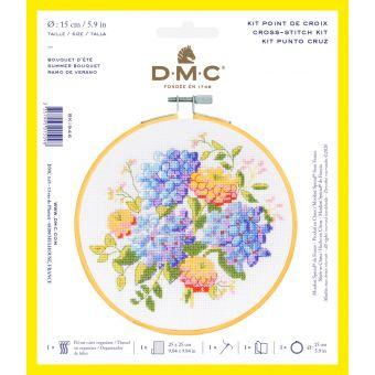 Set Kreuzstich DMC Blumenstrauß