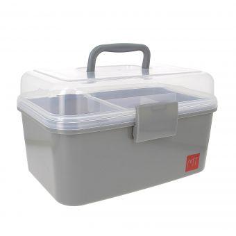 Aufbewahrungsbox Grau - Medium Modell