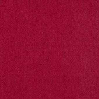 Einfarbiger Baumwollstoff Cristina Kardinalsrot