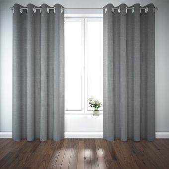 Vorhang Estampes grau