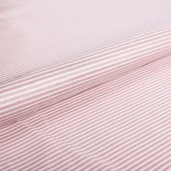 Glänzender beschichteter Stoff mit Streifen - AU Maison